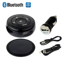 Car AUX Speaker with Audio Bluetooth Music Receiver Adapter Handsfree  3.5mm new
