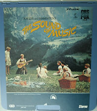 CED (Capacitance Electronic Disc) 2 Disc Movie-The Sound of Music - Julie Andrew