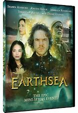 Earthsea: Complete Shawn Ashmore Fantasy TV Mini Series Season 1 Box/DVD Set NEW