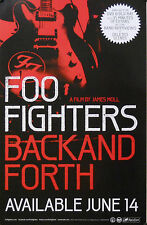 FOO FIGHTERS , BACK & FORTH POSTER (F5)