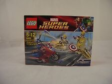 LEGO 6865 Marvel Avengers Captain America's Avenging Cycle New/Sealed