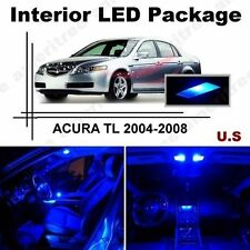 Blue LED Lights Interior Package Kit for Acura TL 2004-2008 ( 9 Pieces )