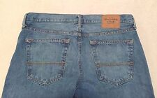 Abercrombie & Fitch Men's The A&F Slim Straight Button Fly Jeans Size 34 x 32
