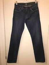 Ladies Seven For All Mankind #7FEYB0845 Shenzhen Straight Leg Jeans Size 24 X 28