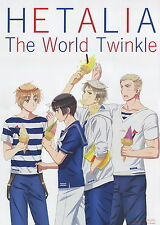Hetalia Axis Powers poster promo Germany Prussia UK Japan The world twinkle