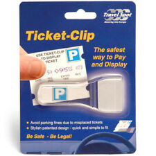 Car Vehicle Motorhome Truck Windscreen Parking Ticket Clip Holder