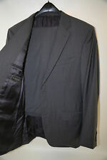 CANALI 14226 Gray Two Button Suit Size 44 L