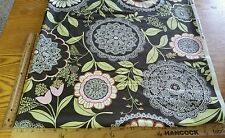 "LOTUS BY AMY BUTLER FOR ROWAN LACY FLORAL COTTON FABRIC BY THE 1/2 YD 44"" W"
