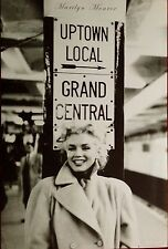 Marilyn Monroe rare Poster 24 x 36 inches New York (Grand central station)