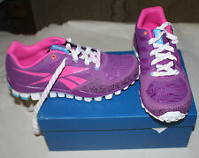 REEBOK REALFLEX TRANSITION 2.0 YOUTH SIZE 4 PURPLE NEW IN BOX FREE SHIPPING