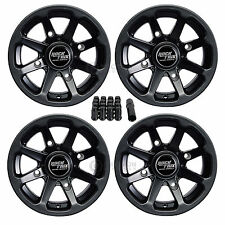 "4pc RockTrix 12"" ATV Wheels Rims - Can-Am Renegade Outlander Commander Maverick"
