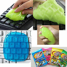 Cleaning Putty Gel Clean Keyboard Phone Desk Laptop Computer Cyber Dust Crumbs