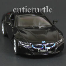 Kinsmart Bmw i8 2 Doors Coupe 1:36 Diecast Toy Car Black