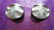 4215 - NORTON 99 +20 PISTONS - NEW + 0.020 - DOUBLE CUT - DOMED