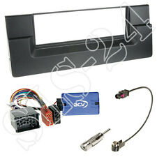 Sony Lenkradinterface+ BMW 5er E39 1996-2004 DIN Radio Blende+ Fakra Antenne Set