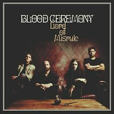 BLOOD CEREMONY - LORD OF MISRULE - CD SIGILLATO 2016