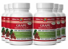 Improve Eye Vision Pure grape seed extract GRAPE SEED EXTRACT 100mg 6 Bottles