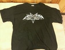 Treblinka logo shirt XL Tiamat Unleashed Entombed