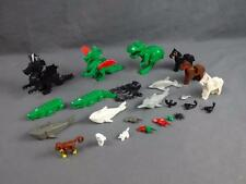 Lego Lot of 25 Various Animals Dragon Cat Dolphin Shark Owl Parrot Sawfish - B