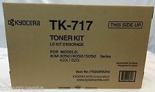 2 X Kyocera Mita TK717 TK-717 KM 3050 4050 5050 420i 520i Copier Printer TONER
