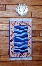 1:24 Scale Dollhouse Miniature Colorful  Beach House Decor rug