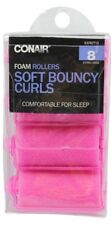 "Conair Extra Large Great Hair Foam Rollers - "" 8 Rollers """