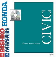 1995 Honda Civic Shop Service Repair Manual CD Engine Drivetrain Wiring OEM