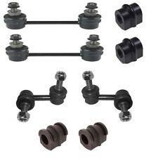 Front +Rear anti roll bar drop link rod ARB Bush to fit Nissan X-trail 01-07