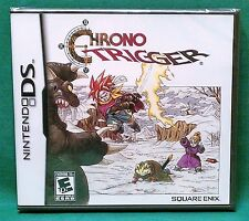 Chrono Trigger (Nintendo DS, 2008) *Factory Sealed* (3DS Compatible) NTSC US