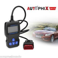 Hand-held OBDII OM123 Code Reader Tester Scanner Car Vehicle Diagnostic Tool