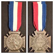 MEDAL FRANCE FRENCH WW1 MEDAL 1915 FOR FUNDRAISING WAR CHARITIES READ INFO BADGE
