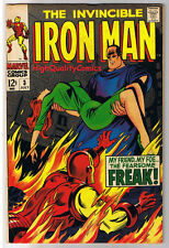 IRON MAN #3, VF+, Freak, Johnny Craig, Movie, 1968,Silver age,more in store (c)