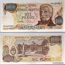 ARGENTINE billet neuf 1000 PESOS Pick304d SAN MARTIN 1976 La PLACE de MAI