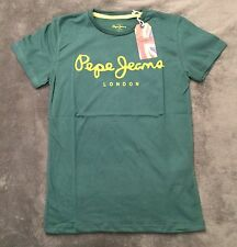 T-shirt Homme Pepe Jeans Manches Courtes Taille L