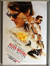 Cinema Poster: MISSION IMPOSSIBLE ROGUE NATION 2015 (Main One Sheet) Tom Cruise