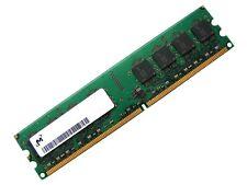 Micron MT16HTF25664AZ PC2-6400U-666 2GB 2Rx8 DDR2 RAM Memory , 800MHz CL6