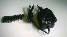 Universal D/C Power Supply for Laptop Adapter Car Adapters Charger Cord 80W
