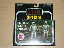 Star Wars Vintage Collection Endor At-St Driver Gunner K-mart Action Figure Set