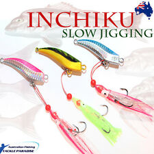 3x 80g Inchiku Jig Micro Octo Jigs Fishing Lure Jigging Ship Snapper King Pirate