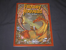 Fantasy Nouveau Adult Coloring Book  by Herb Leonhard  Brand New PB
