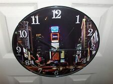 New York City`12 Inch,New Years Eve-Time Square,Wall Clock,New In Box- Free 2 US