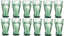 96 CocaCola Gläser 0,2 l in transparent Coca Cola Glas Set Trinkglas Konturglas