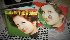 Cd MINA ...in the word 2000 MBO Carosello Italdisc FUORI COMMERCIO  RARO NUOVO!