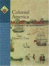 Colonial America: A History in Documents (Pages from History)-ExLibrary