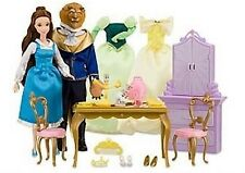 Disney Store Exclusive Beauty and the Beast Dining Set