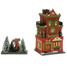 "Department 56 Christmas in the City ""KRINGLE & SONS BOUTIQUE"" NIB 2017 LTD. ED."