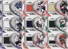 49 different 2011-12 ITG Heroes & Prospects Hockey Game Jersey Card Lot /100