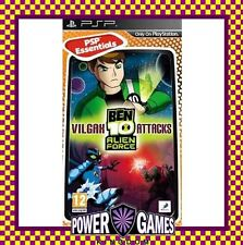 Ben 10 Alien Force Vilgax Attacks Essentials (Sony PSP) Brand New