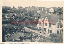2 x Foto, 7. N.E.A.14, Häuser in Knokke, Belgien 1940 (W)1457