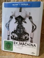 EX_MACHINA Blu-Ray Germany Exclusive Limited Edition STEELBOOK Sold Out OOP